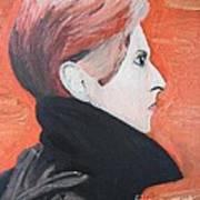 David Bowie Art Print by Jeannie Atwater Jordan Allen