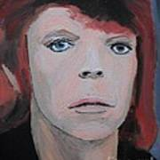 David Bowie The Early Years Art Print