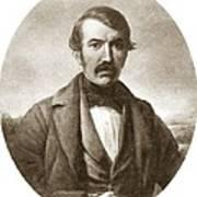 David Livingstone, Scottish Explorer Art Print by Sheila Terry