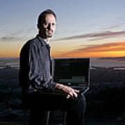 David P. Anderson, Us Computer Scientist Art Print