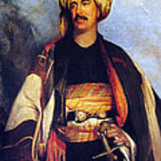 David Roberts In Arabian Dress Art Print