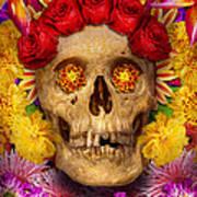 Day Of The Dead - Dia De Los Muertos Art Print