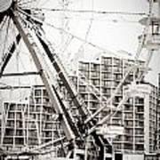 Daytona Beach Ferris Wheel Art Print