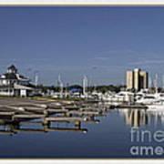 Daytona Boat Launch Art Print