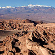 Death Valley - San Pedro De Atacama - Chile Art Print