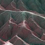 Death Valley Mountains 3 Art Print
