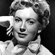 Deborah Kerr, C. Early-mid 1950s Art Print