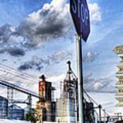 Decatur Alabama Industrial District Art Print