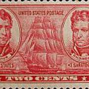 Decatur And Macdonagh Postage Stamp Art Print