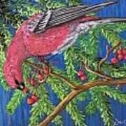 December Berries Art Print