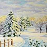 December Morning Art Print