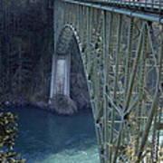 Deception Pass Bridge South Span Art Print