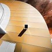 Deckchair In Space Art Print