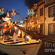Decorated Fishing Boats Art Print