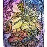 Deepsea Kritters Art Print