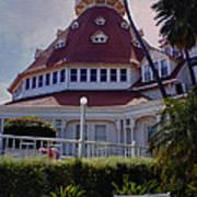 Del Coronado Hotel San Diego  Art Print