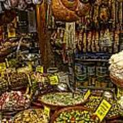 Deli In Palma De Mallorca Spain Art Print by David Smith