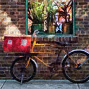 Delivery Bicycle Greenwich Village Art Print