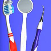 Dental Equipment Art Print