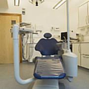 Dentist Chair Art Print