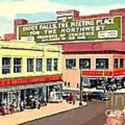 Department Stores In Sioux Falls S D Art Print