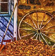 Derelict Cabin Art Print