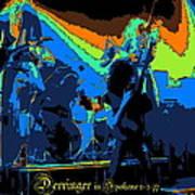 Derringer Rock Spokane 1977 Art Print