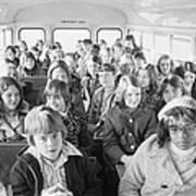 Desegregation: Busing, 1973 Art Print