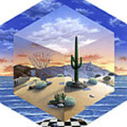 Desert On My Mind 2 Art Print