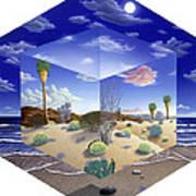 Desert On My Mind Art Print