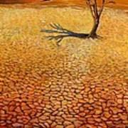 Desert Pan Art Print