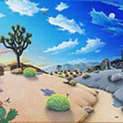 Desert Timeline Art Print