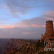 Desert View Watchtower Art Print