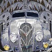Desoto And Deco Design Art Print