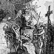 Destruction Of Idols, C1750 Art Print