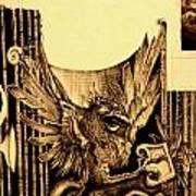 Detail 3 Of - An Unfinished Dream - Durer Art Print
