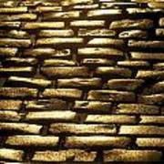 Detail Of Cobblestones, Dublin, Ireland Art Print