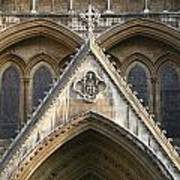 Detail Of Westminster Abbey Art Print