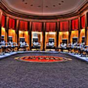 Detroit Pistons Locker Room Auburn Hills Mi Art Print