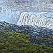 Dettifoss Waterfall Iceland Art Print