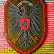 Deutsch Weimarer Shield Art Print