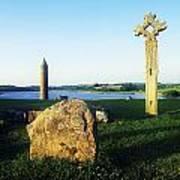 Devenish Island, Co Fermanagh, Ireland Art Print