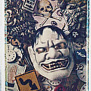Devil Mask Art Print