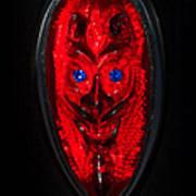 Devil With Sapphire Eyes Art Print
