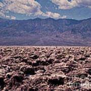 Devil's Golf Course At Death Valley Art Print