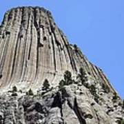 Devil's Tower Full View Art Print