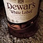 Dewars White Label Art Print