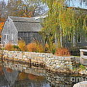 Dexter's Grist Mill Print by Catherine Reusch Daley