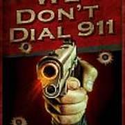 Dial 911 Art Print by JQ Licensing