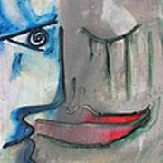 Dialogos 16 Art Print